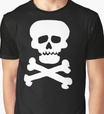 Demon Rock Skull Graphic T-Shirt