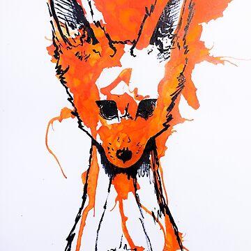 Fox in Ink by Gaius