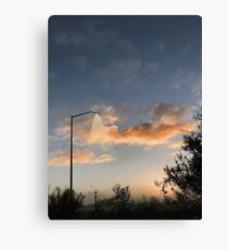 Early Morning in Suburbia Canvas Print