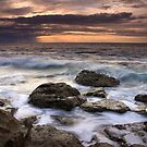 Sunrise over the South Shore by Lucy Hollis