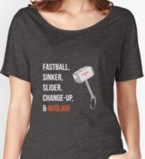 Noah Syndergaard Pitches  Women's Relaxed Fit T-Shirt