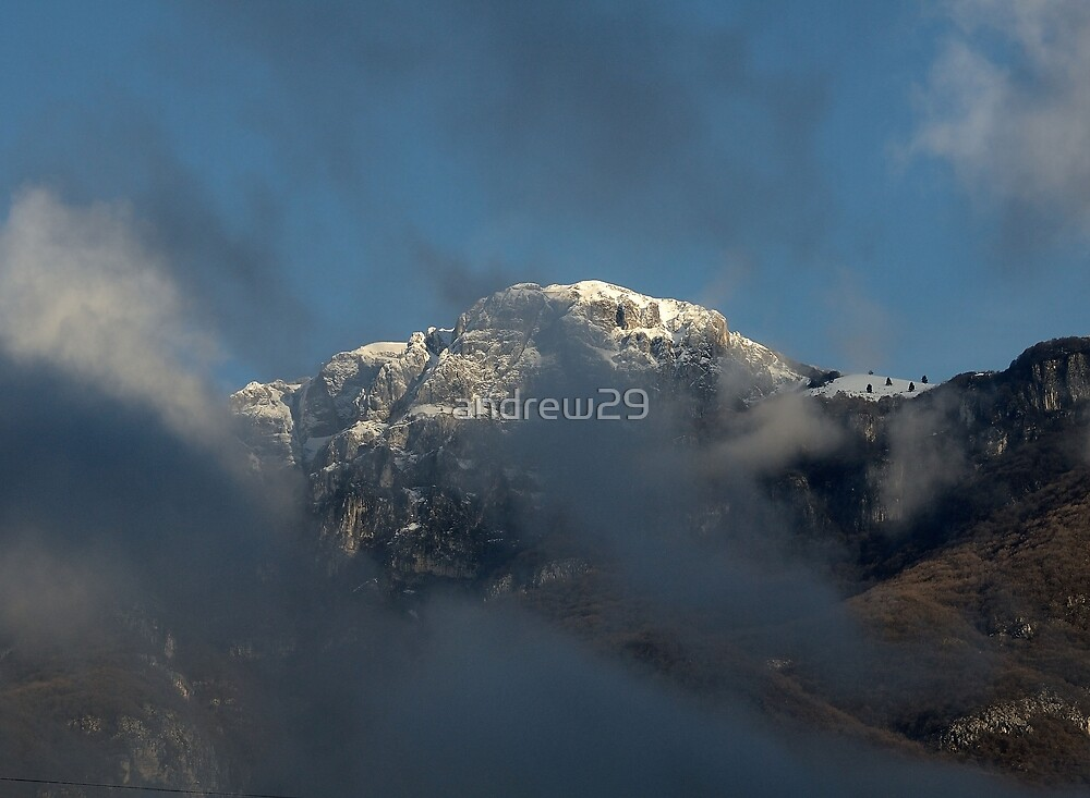 Dolomiti tra le nuvole  by andrew29