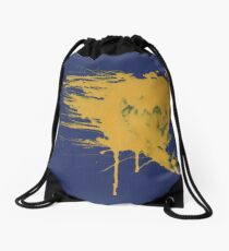Left Elbow Strike Drawstring Bag