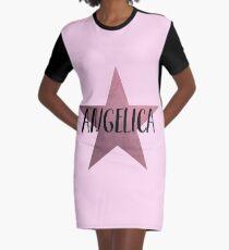 Angelica Schuyler Star Graphic T-Shirt Dress
