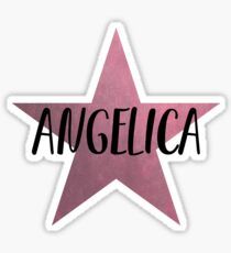 Angelica Schuyler Star Sticker