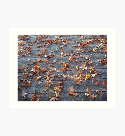 """This is why they call """"Autumn"""", """"Fall""""! Art Print"""