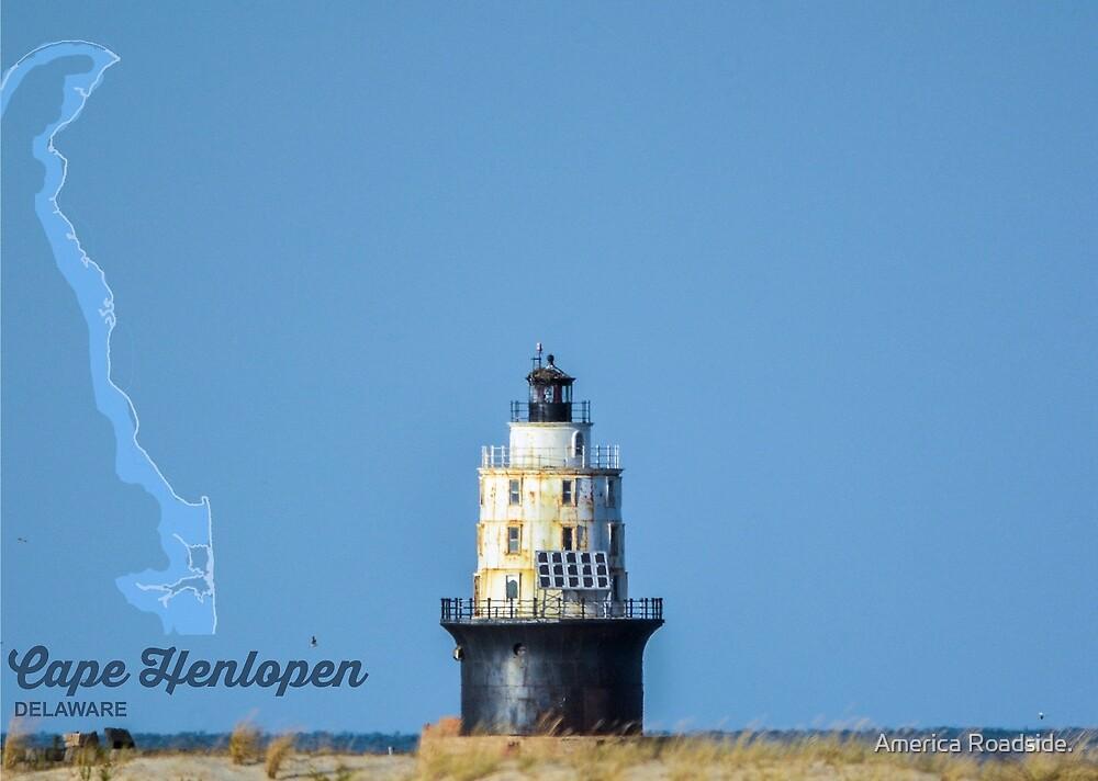 Cape Henlopen. by America Roadside.