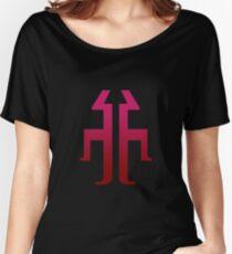 Titan (red lit) Women's Relaxed Fit T-Shirt