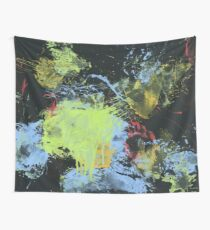 Martial Arts Painting Wall Tapestry