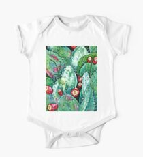 Tucson Prickly Pears Watercolor Kids Clothes