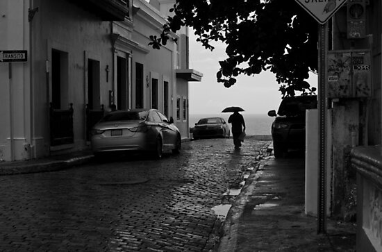 Walking in the Rain by Michael Anderson
