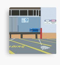 0086 loading bay Canvas Print