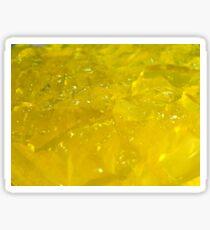 Yellow Jelly Jello Sticker
