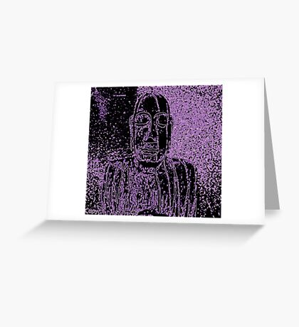 Karma in Lilac Greeting Card