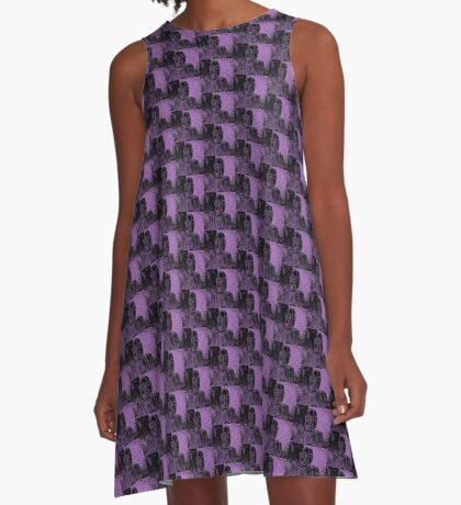 Karma in Lilac A-Line Dress