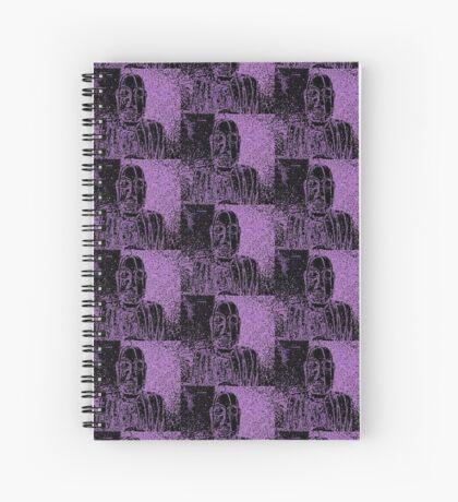 Karma in Lilac Spiral Notebook