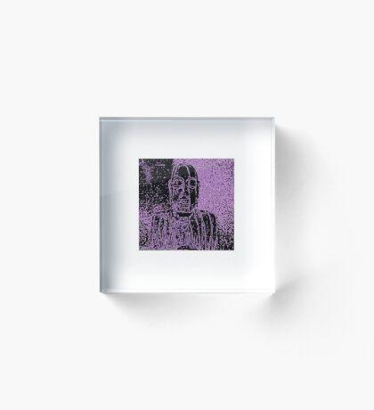 Karma in Lilac Acrylic Block