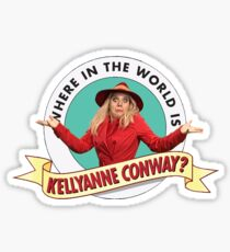 SNL - Where in the world is Kellyanne Conway? Sticker