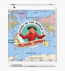 SNL - Where in the world is Kellyanne Conway? iPad Case/Skin