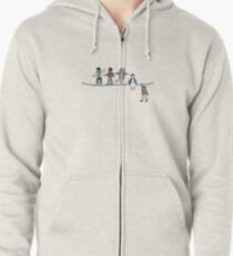 Stranger Things: The Acrobats and the Fleas Zipped Hoodie