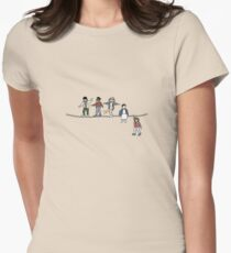 Stranger Things: The Acrobats and the Fleas Women's Fitted T-Shirt