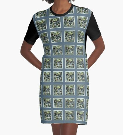 World Of The Succulent Graphic T-Shirt Dress