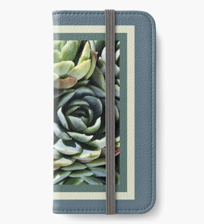 World Of The Succulent iPhone Wallet