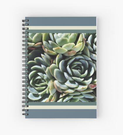 World Of The Succulent Spiral Notebook