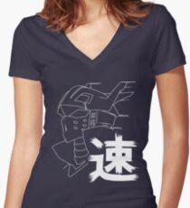 Tenya Ingenium Boku no Hero Academia Women's Fitted V-Neck T-Shirt