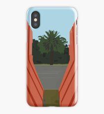 0099 orange barriers iPhone Case/Skin