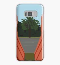 0099 orange barriers Samsung Galaxy Case/Skin