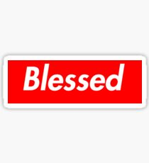 Supremely Blessed Sticker