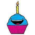 Happy Cupcake by Andre Gascoigne