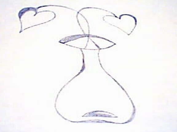 Vase of Hearts by marsbar007