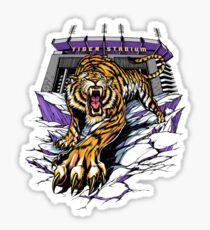 Tiger Stadium Sticker