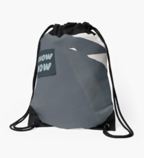 0094 art show sign -  circle  Drawstring Bag