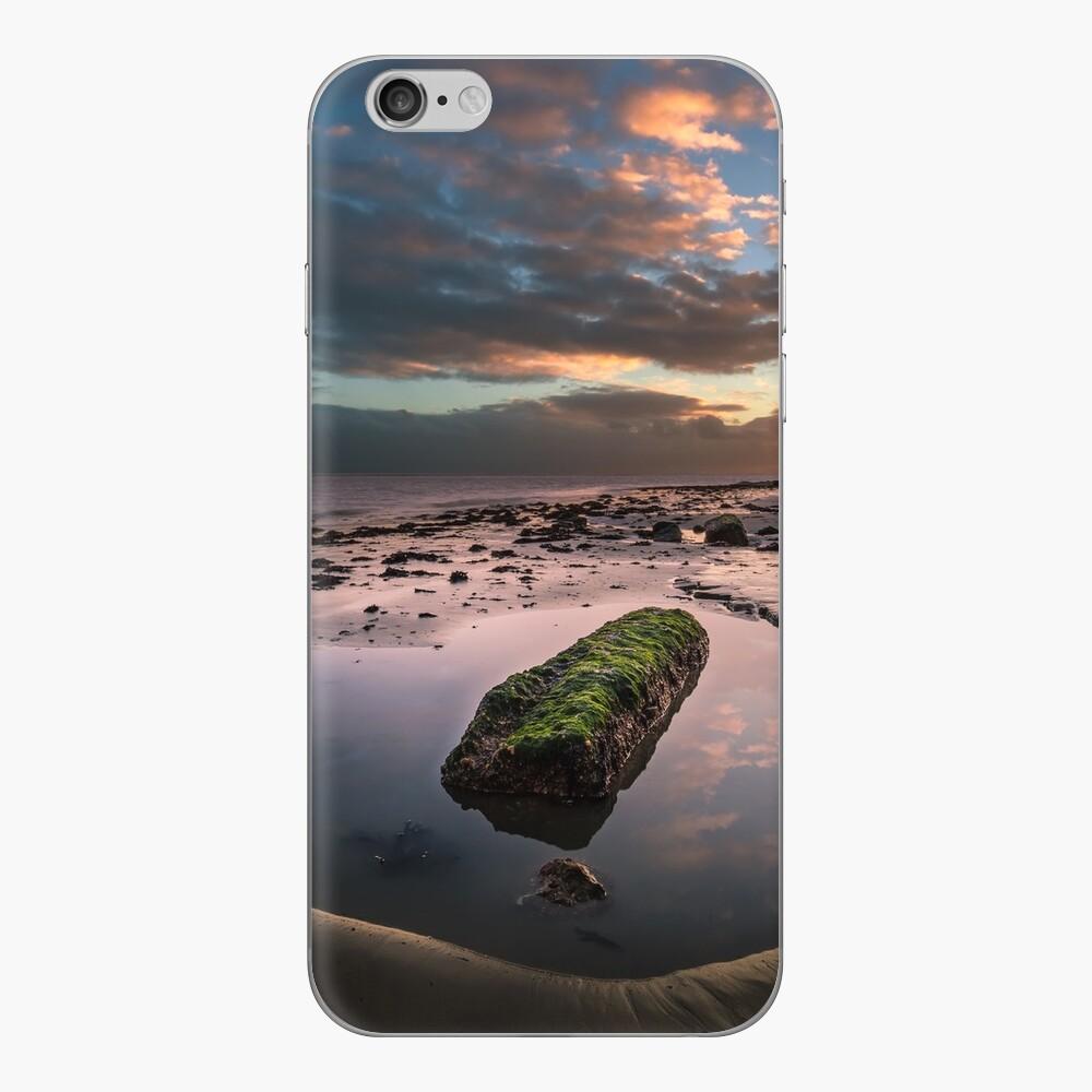Rock Pool Sunset iPhone Skin