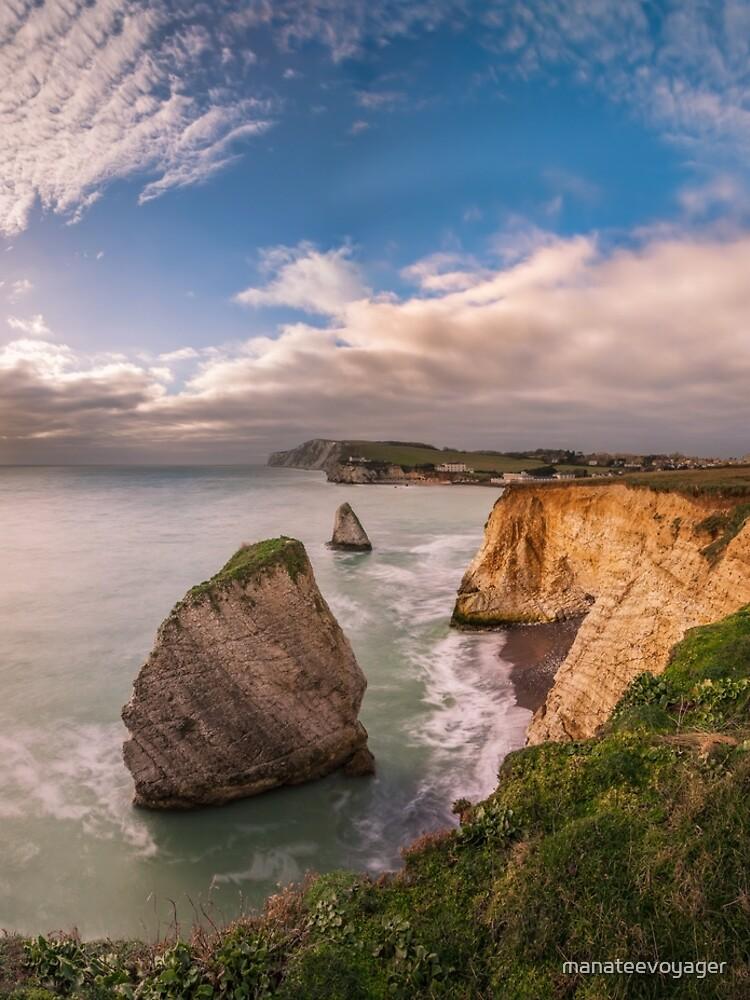 Freshwater Bay Panorama by manateevoyager