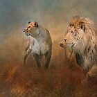 Savanna Lions by Tarrby