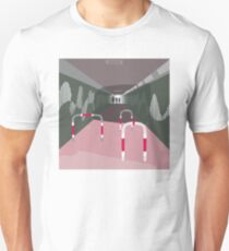 0104 Bicycle slow through tunnel Unisex T-Shirt