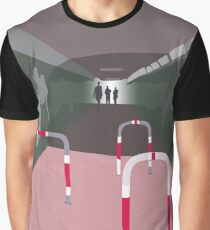0104 Bicycle slow through tunnel Graphic T-Shirt