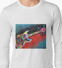 Space Guitar Long Sleeve T-Shirt