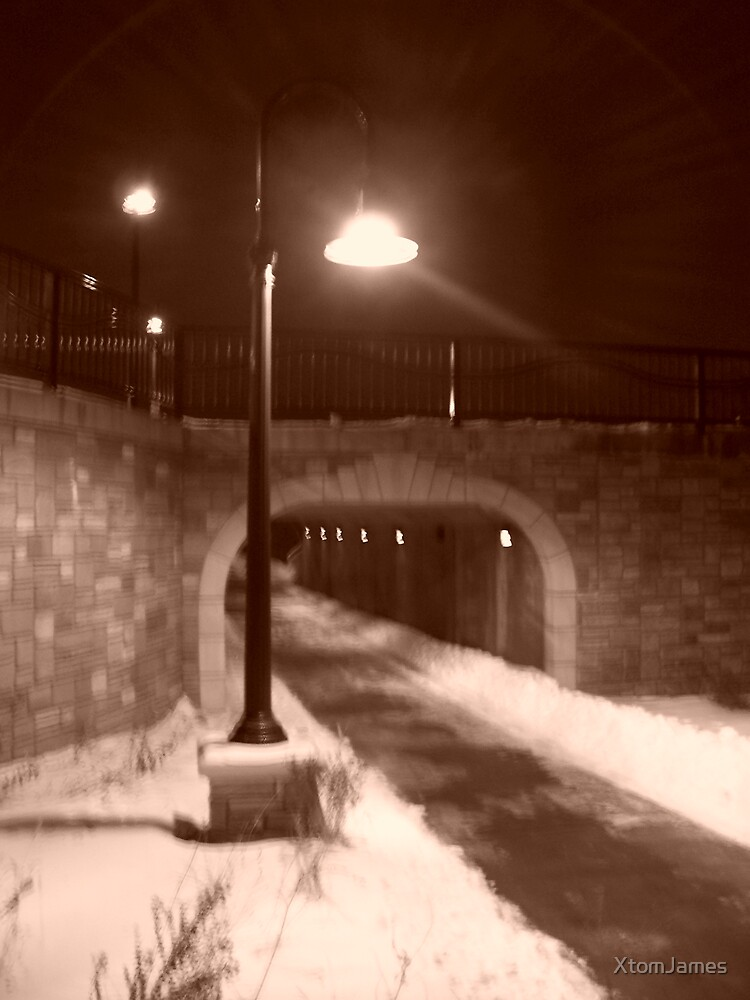 Cold Tunnel by XtomJames