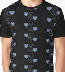 blue heart Graphic T-Shirt