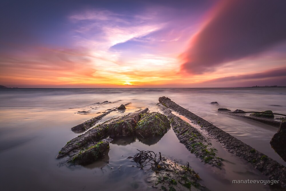 Solent Sunset by manateevoyager