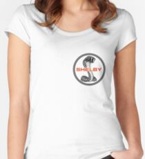 SHELBY COBRA Women's Fitted Scoop T-Shirt