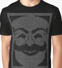 mr. robot - f.society.dat Graphic T-Shirt