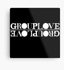 GROUPLOVE Metal Print