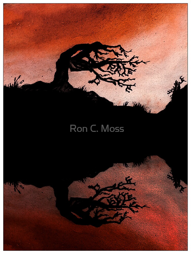 Fire Tree by Ron C. Moss
