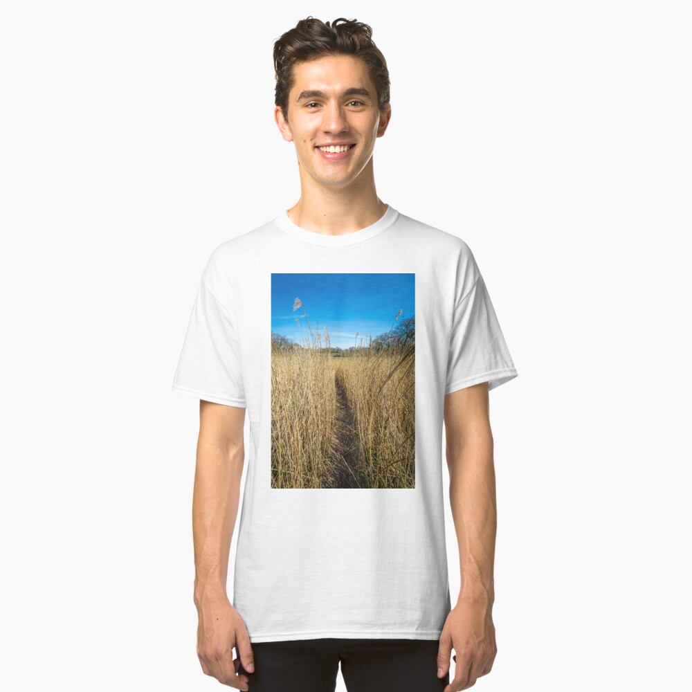 Pathway Through The Reeds Classic T-Shirt